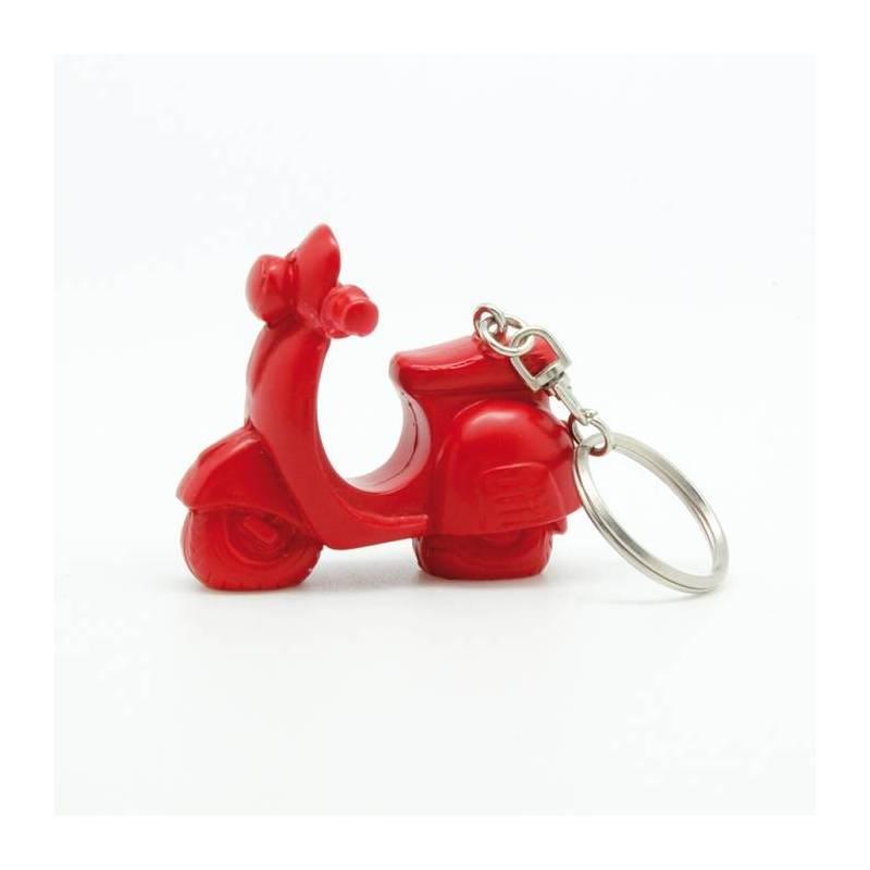 Vespa rouge porte-clefs h6cm