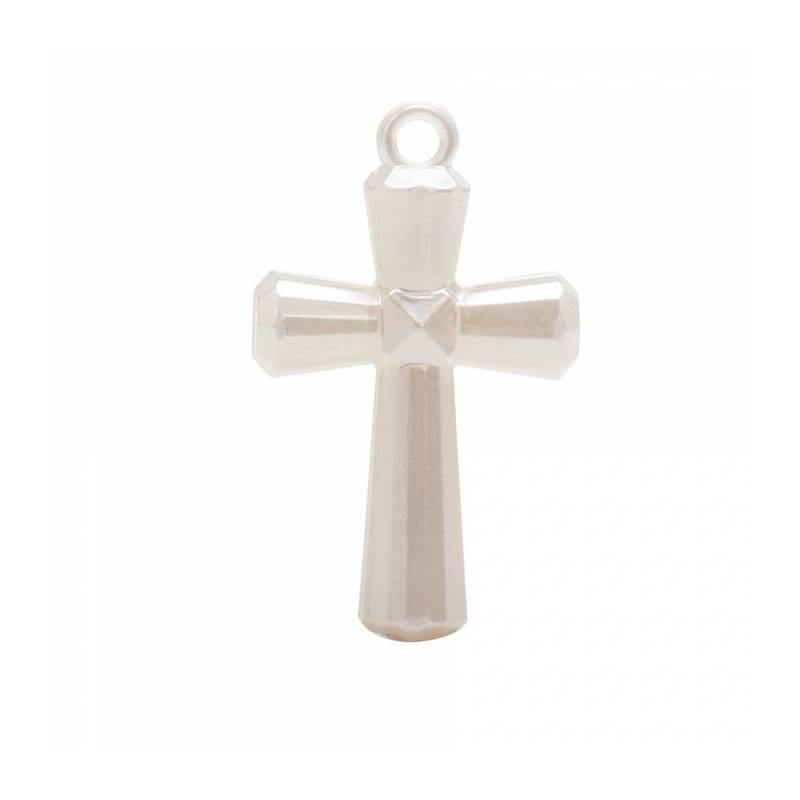 4 bijoux croix nacre 2,5h4cm