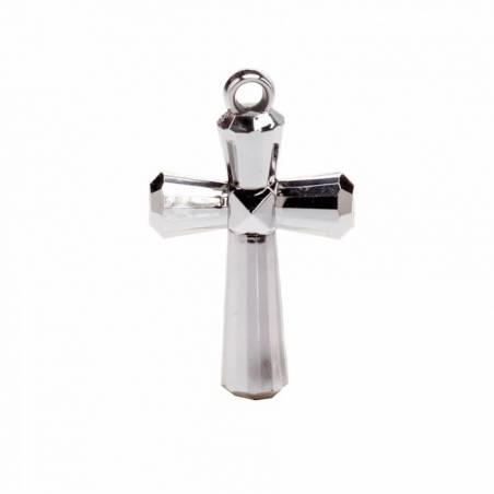 4 bijoux croix argent 2,5h4cm