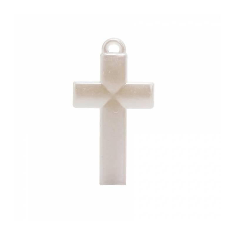 4 bijoux croix nacre 2,5h4,8cm