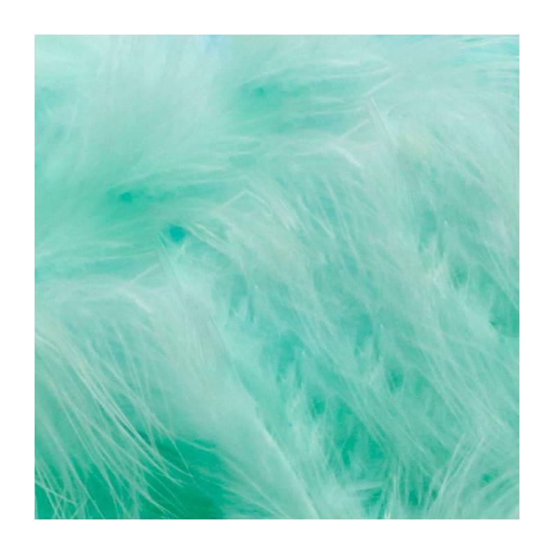 Plumes vert eau triees de dinde 100gr