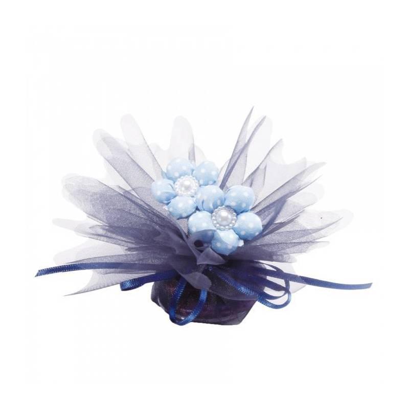 Tulle bleu marine d23cm