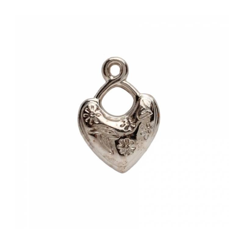 10 bijoux coeur h2,3cm