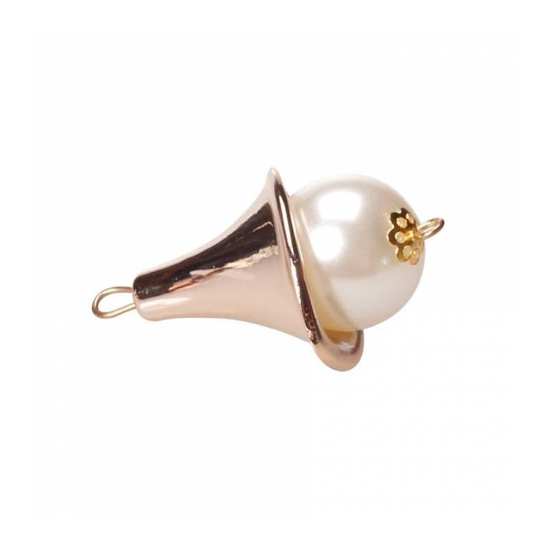 6 bijoux perle 2,4h4cm