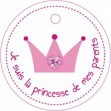 25 nominettes couronne princesse d4cm