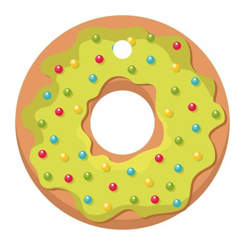 25 nominettes donuts vert d4cm