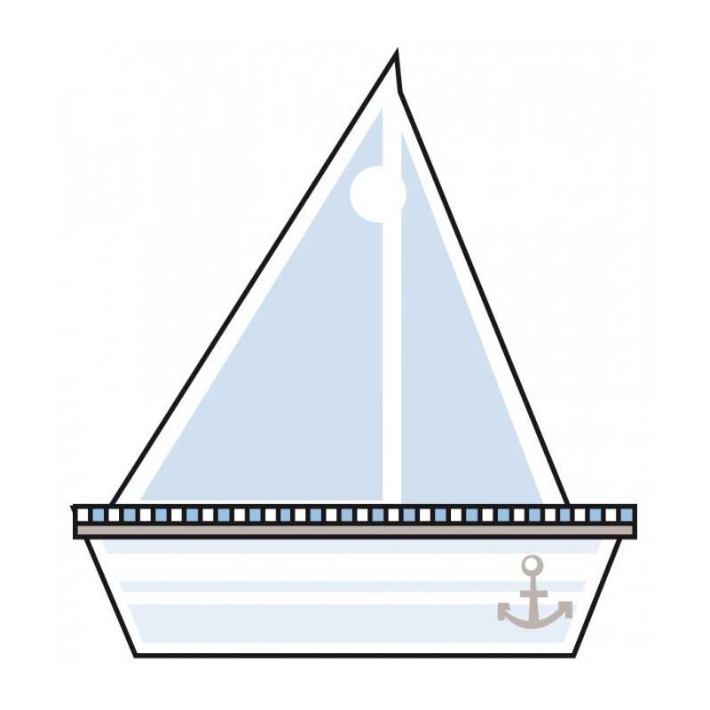 25 nominettes bateau 4h4,3cm