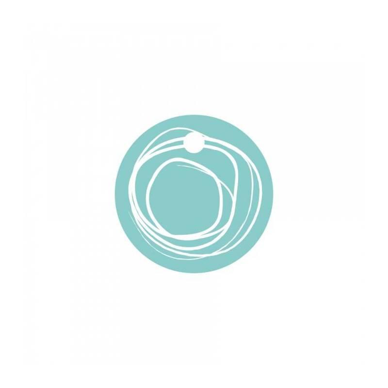 25 nominettes emeraude cercle blc. d3cm