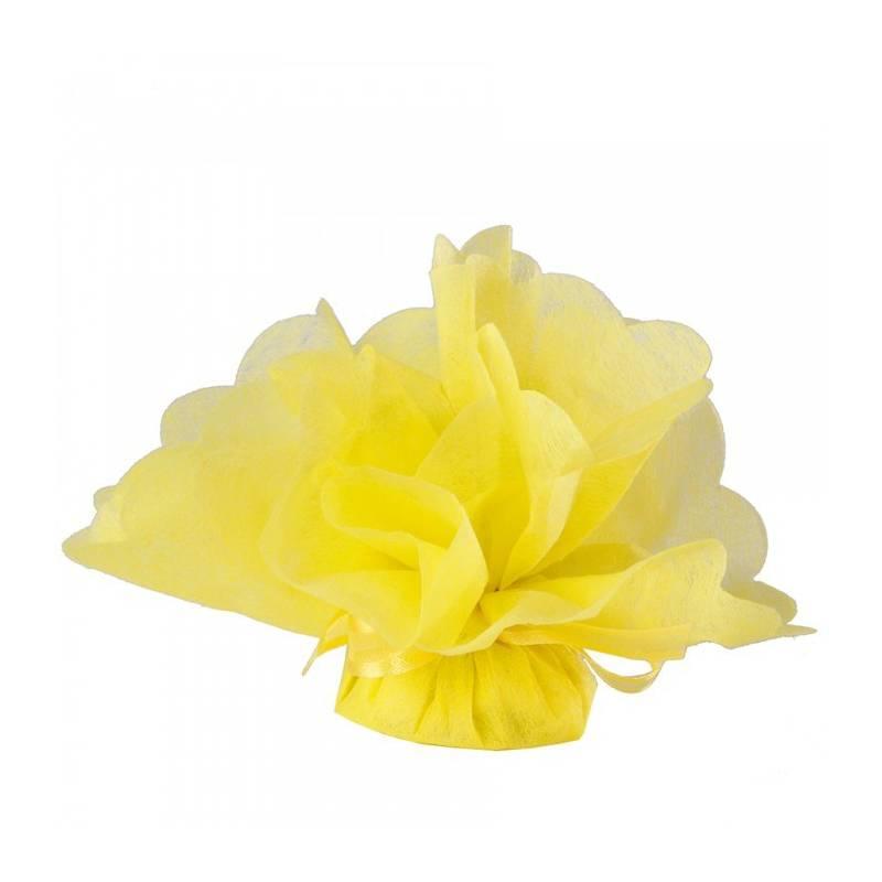 25 Tulles intissés - Couleur jaune