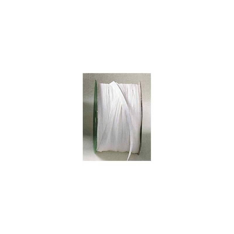 Raphia blanc 7mmx100mt