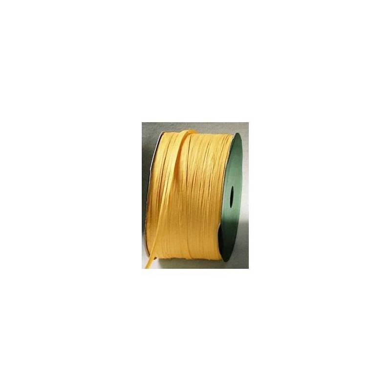 Raphia jaune 7mmx100mt