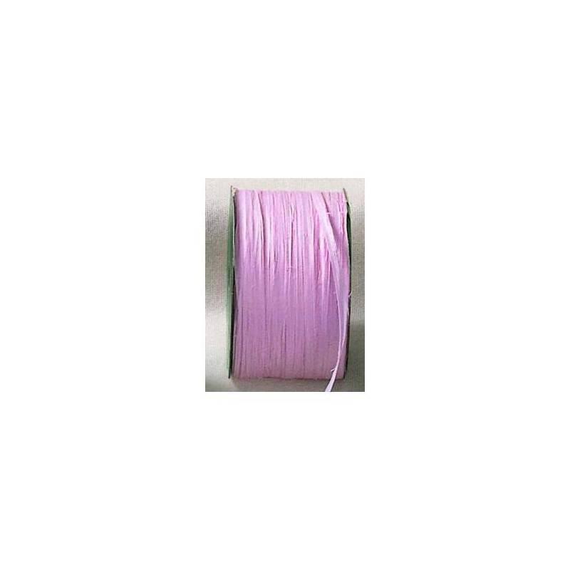 Raphia rose 7mmx100mt
