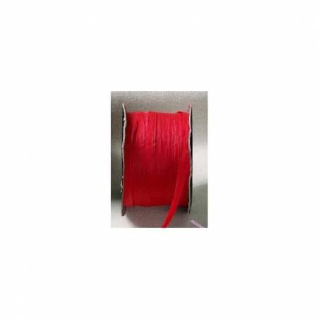 Raphia rouge 7mmx100mt