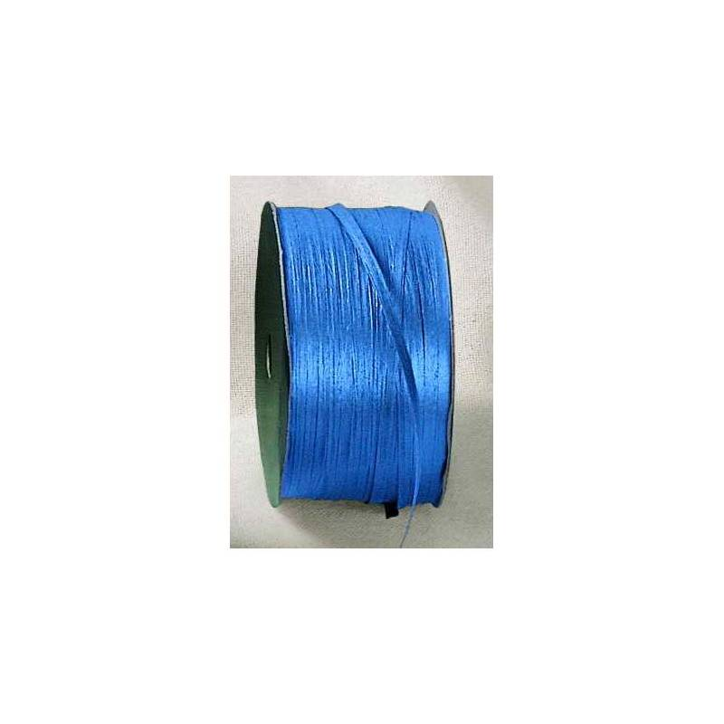 Raphia bleu roi 7mmx100mt