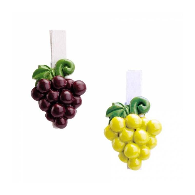 Clip grappe raisins 2ass h4,5cm