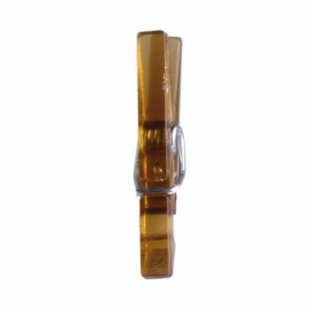 Clip marron 2,5cm