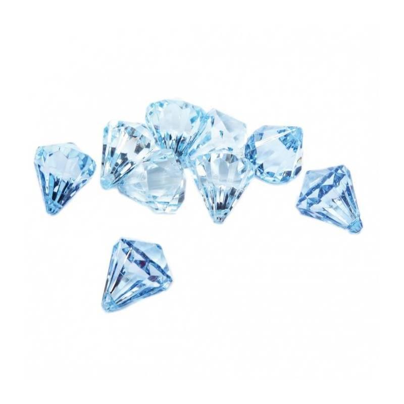 Bijoux diamant turquoise n°1 h2,5cm
