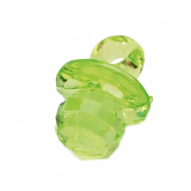 Bijoux tetine vert n°1 h2,5cm