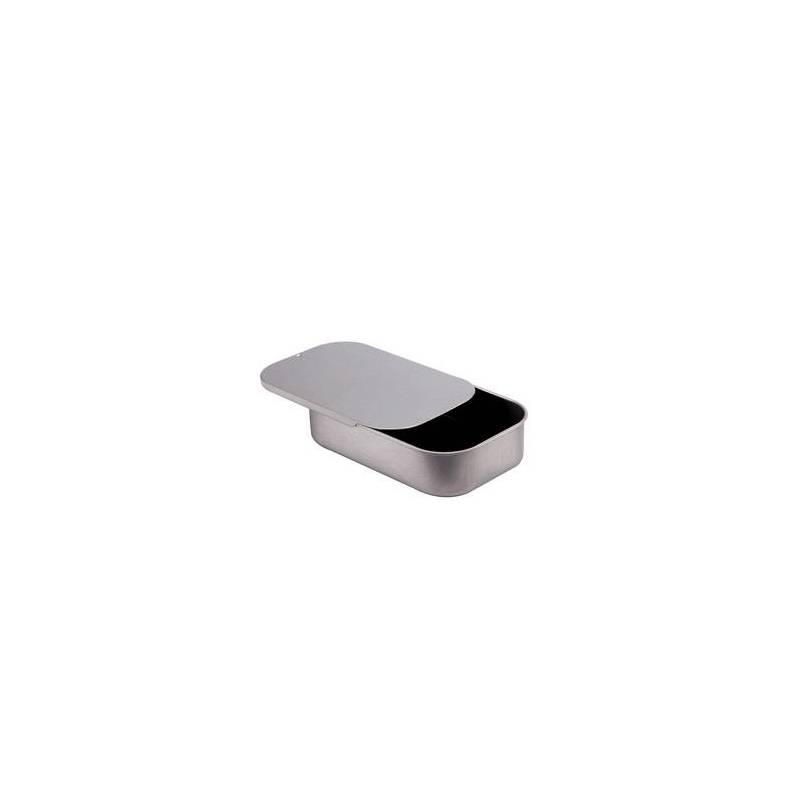 Boite plate metal 10x6,5h2,5cm