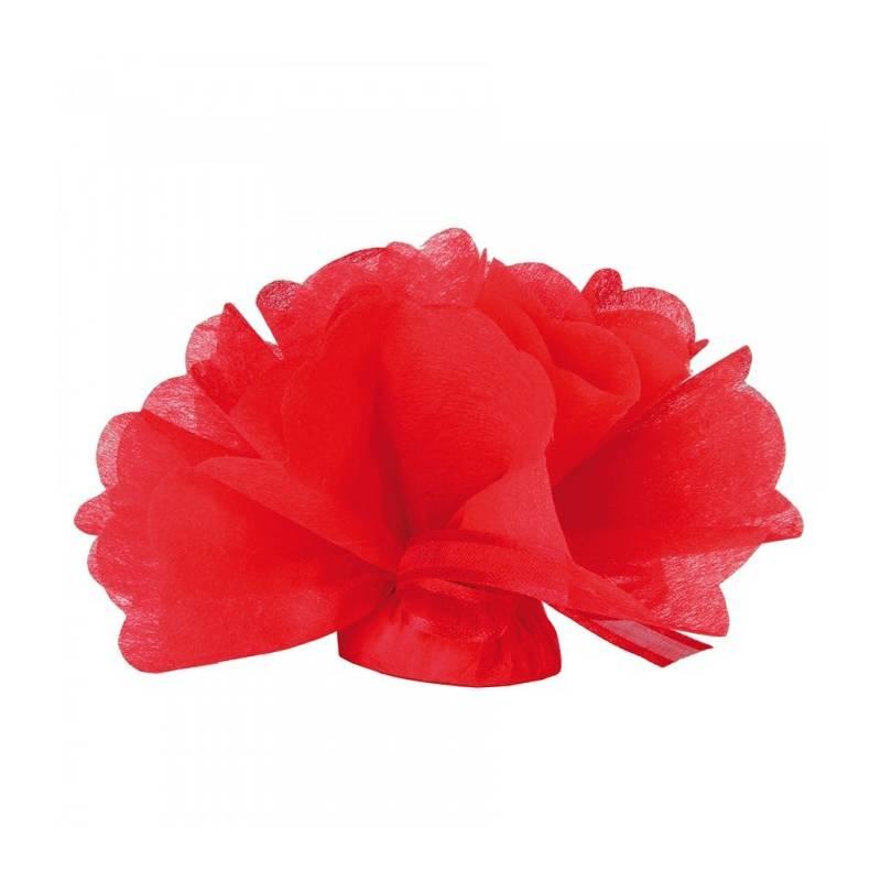25 Tulles intissés - Couleur rouge
