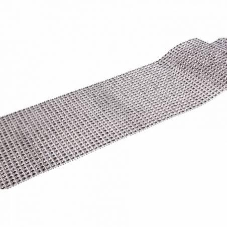 Chemin de table diamant strass 11,5cmx1mt
