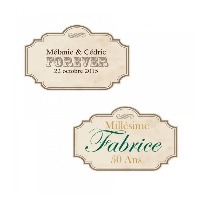 "Stickers p.""forever"" 40pcs 4x2,5cm"