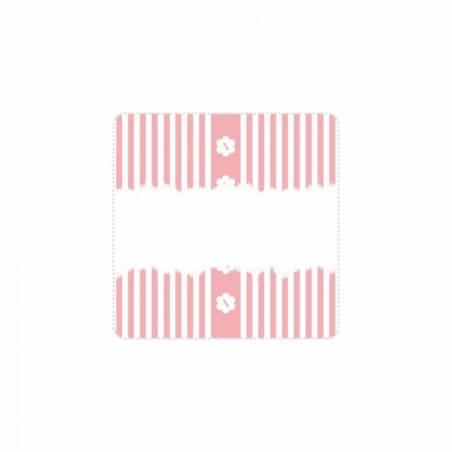 """Stickers p.""""Ligne"""" 40pcs 3,8x3,8cm"""