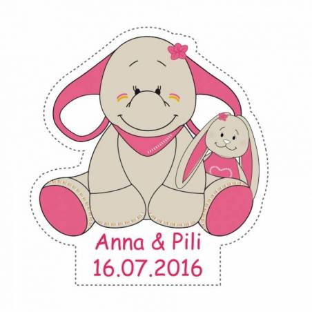 Stickers p.anna & pili 40pcs 3,9x4cm