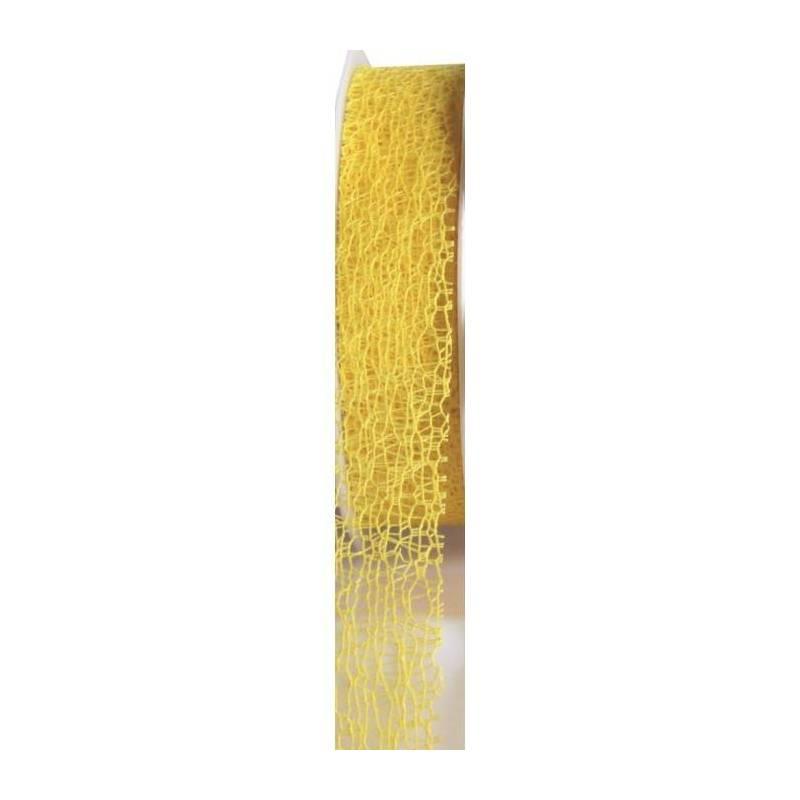 Ruban filet jaune 25mmx20mt