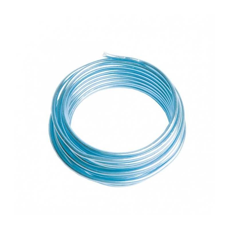 Fil de fer bleu ciel 2mmx3mt