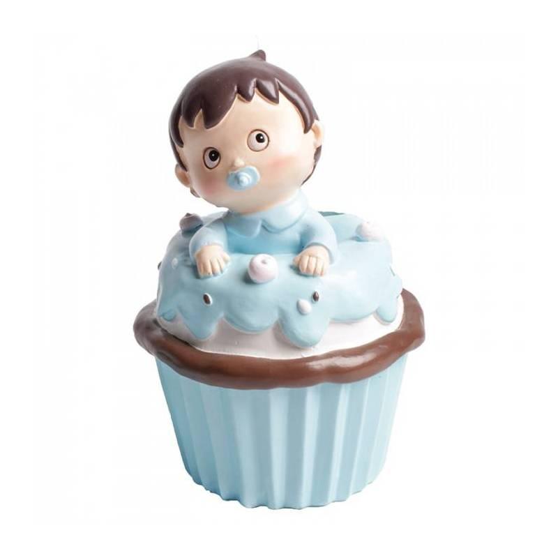 Tirelire cupcake oscar d7h11cm