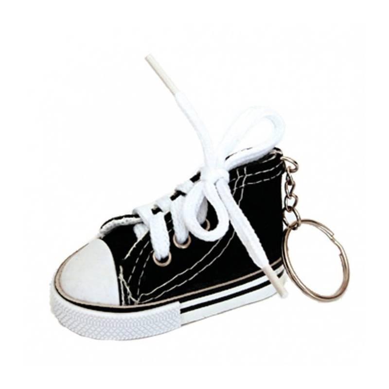 Basket porte-clefs noire 7,5x3,5h4cm
