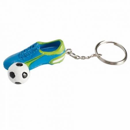 Chaussure foot porte-clefs 4x1,5h1,5cm