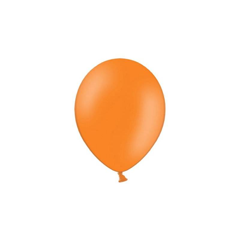 Ballons de fête 23cm orange