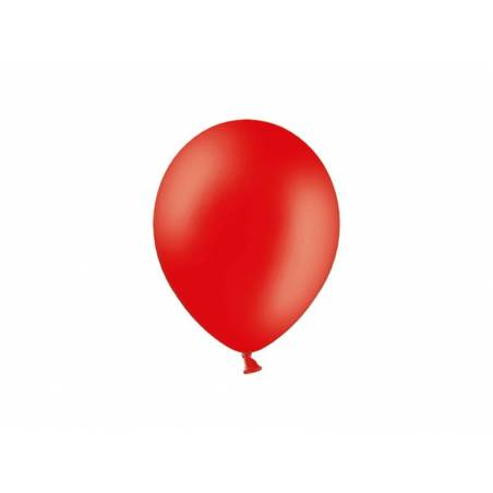 Ballons de fête 23 cm rouges