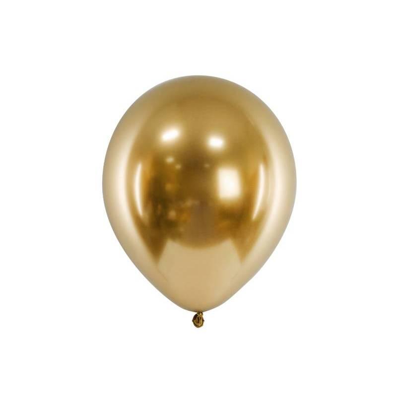 Ballons brillants 30cm or