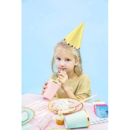 Chapeaux de fête Yummy mix 16cm