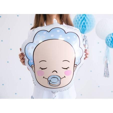 Ballon aluminium Baby - Garçon, 40x45cm, mix