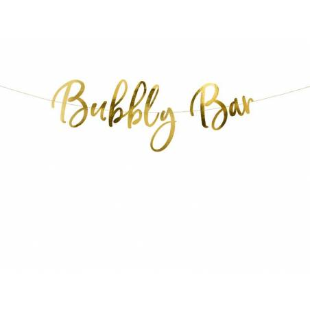 Banner Bubbly Bar, or, 83x21cm