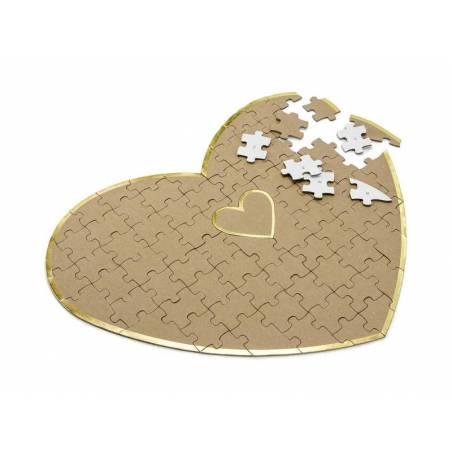 Puzzle Livre d'or - Coeur, 45x35.5cm