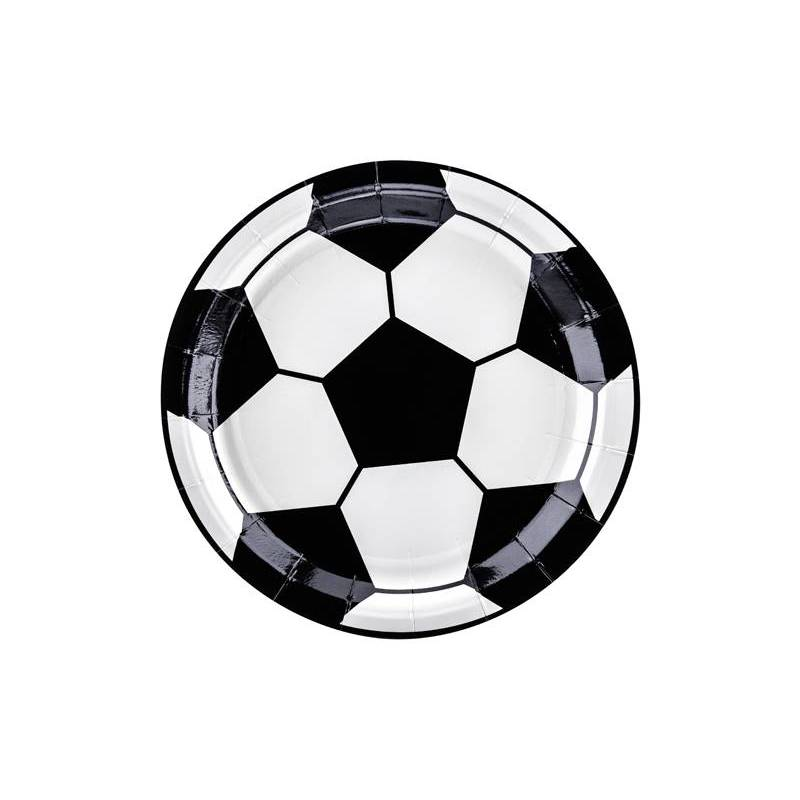 Assiettes Football mix 18cm
