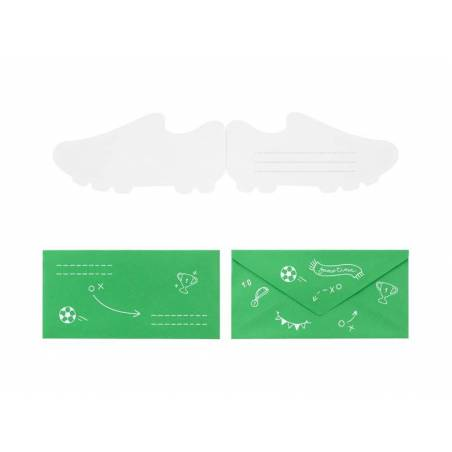 Invitations Football - Chaussure mix
