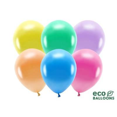 Ballons Eco 30cm mélange métallique