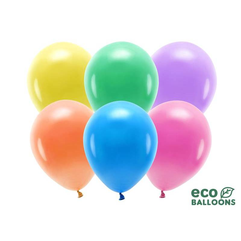 Ballons Eco 30cm mélange pastel