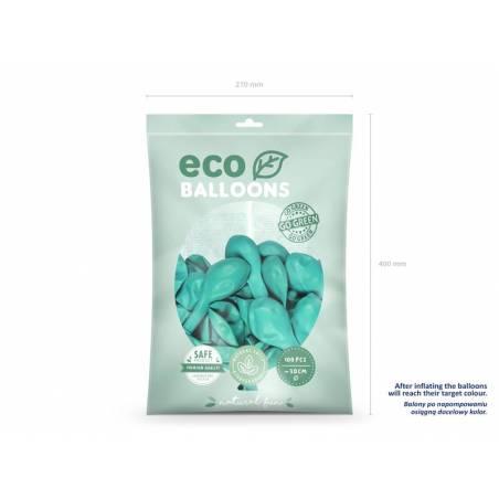 Ballons Eco 30cm menthe foncée