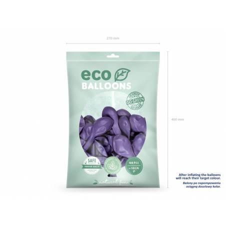 Ballons Eco 30cm lavande