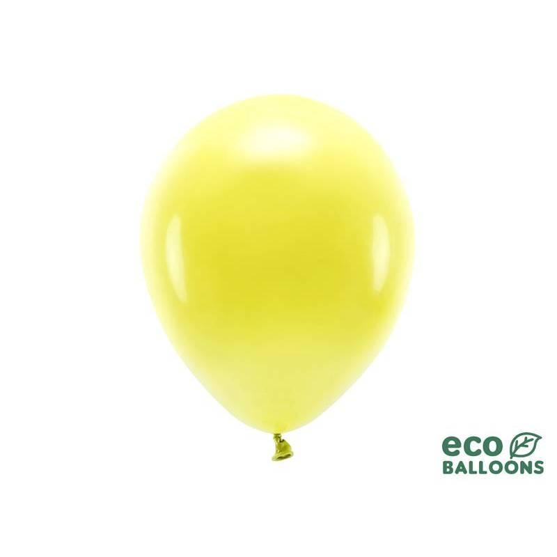 Ballons Eco 30cm jaune