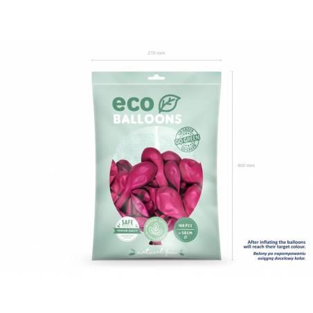 Ballons Eco 30cm fuchsia