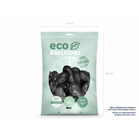 Ballons Eco 30cm noir
