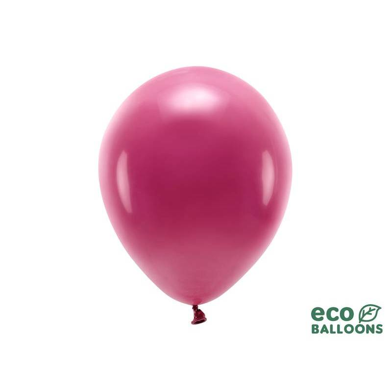 Ballons Eco 30cm rouge foncé